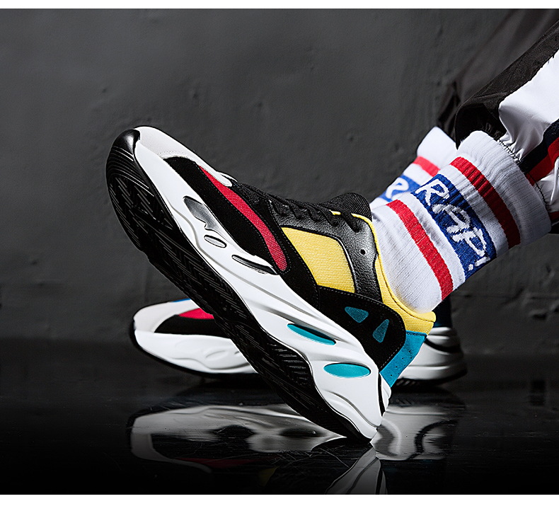 Unseix Air 700 running shoes mens outdoor athletic sport jogging elastic zapatos de mujer comfortable running sneakers 95 Online shopping Bangladesh