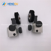 1 Pair offset printer parts G40 426428429 L440 wheel for KOMORI machine Black color Komori Wheel(China)