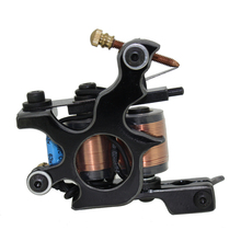 Free Shipping! Hot Professional Handmade Tattoo Machine Retail or Wholesale 10 Wrap Coils Machine 1100257