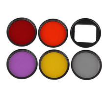 Camera Lens Polarizer Filter Adapter 52mm Mount Kit for Gopro Hero 4 3+ Mini Camcorder Accessories