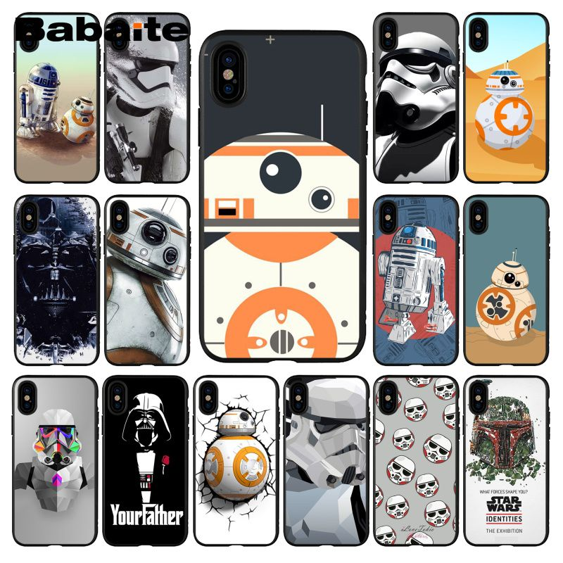 Cellphones & Telecommunications Maiyaca Star Wars Bb-8 Droid Robot Yoda Case For Iphone 10 Xr Xs 8 8plus Tpu Transparent For Iphone 5 5s Se 6 6s 7 Phone Case