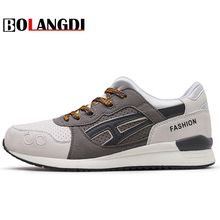 Bolangdi 2017 New Men Running Shoes For Men's Breathable Sport Run Autumn Super Light Outdoor Athletic Shoes Brand Man Sneakers(China)