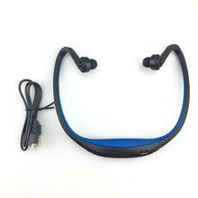 S9 Sport Bluetooth Earphone Plus SD Card Slot Auriculares Headphones Microphone Neckband Headset for Iphone Huawei XiaoMi Phone