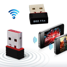 1PCS Portable Mini USB Wireless Router Dongle Internet Adapter WI-FI 150Mbps