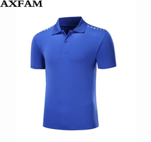 AXFAM  2017 Summer Man Breathable T-shirt Quick Dry Badminton Team clothes,  sports table teenis clothes , Badminton shirt