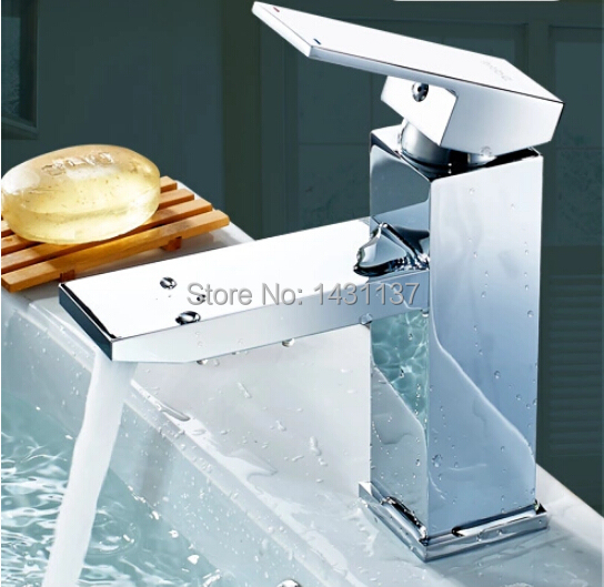new design top high quality brass material bathroom hot and cold single lever basin faucet<br><br>Aliexpress