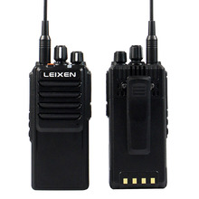 2pcs DHL or EMS Free Shipping NEW High Power 20W LEIXEN-NOTE Walkie Talkie UHF 400-480MHz 16 CH VOX Scan TOT Radio Comunicador