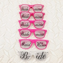 Bridal Bachelorette Party Occasions Bride Maid of honor Bridesmaids Wedding Party Sunglasses for Memorable Moments & Fun Photos(China)