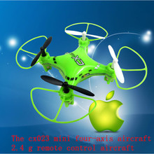 Buy mini rc drone CX023 2.4G 6-Axis Gyro remote control rc quadcopter 360 dgree flips LED Light RTF Toy model rc toy kid gifts for $48.72 in AliExpress store
