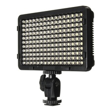 176Pcs LED Panel Video Digital Photography Flash Fill Light Lamp with 2 Filter For Canon For Sony DSLR Camera Camcorder
