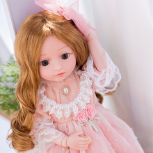 45CM children talking doll toys princess doll with clothes educational toys doll reborn