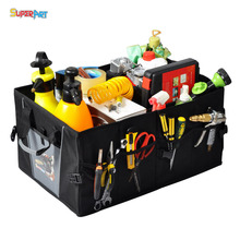 Car Trunk Organizer Box Storage Organizer Car Cargo Boxes Box Storage Durable Collapsible SUV, Truck (NEW DESIGN) SUPERART(China)