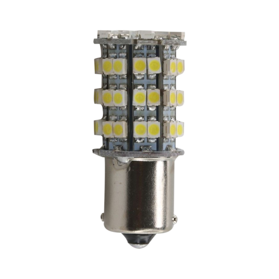 20 X 1156 BA15S RV Trailer Interior 12V LED Lights Bulbs 60 SMD 6000K Xenon White