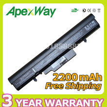 Apexway 2200mAh Laptop Battery for HP 510 530 440264-ABC 440265-ABC 440266-ABC 440704-001 443063-001 HSTNN-FB40 HSTNN-IB44(China)
