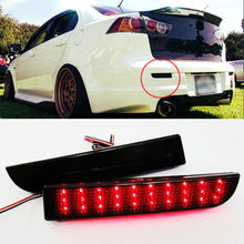 Buy CYAN SOIL BAY LED Bumper Reflector Smoked Lens Brake Light Mitsubishi Lancer EVO Evolution X CZ4A Outlander Sport RVR ASX for $17.99 in AliExpress store