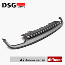 Audi A7 4G Rear Bumper Diffuser(China)