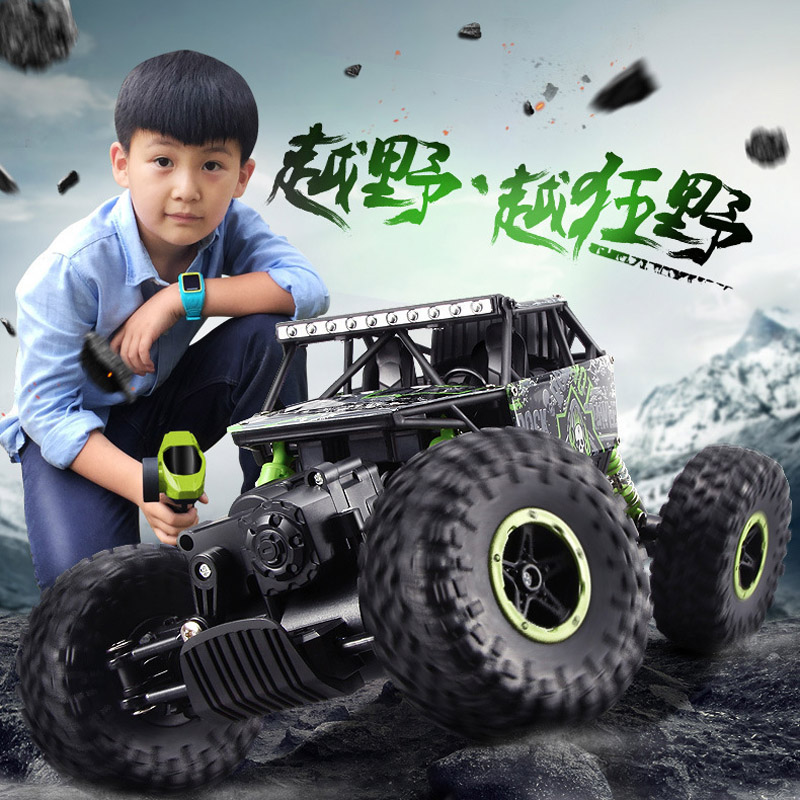 2.4G 4CH 4WD RC Car Rock Crawlers 4x4 Driving Car Double Motors Drive Bigfoot Car Remote Control Car Model Off-Road Vehicle Toy<br><br>Aliexpress