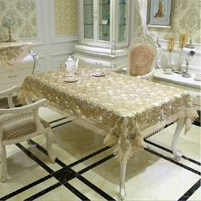 New Arrival Hot Selling Delicate Full Lace Tablecloth Elegant Wine Lace Table Cloth Clover Overlays Home Towel Textiles