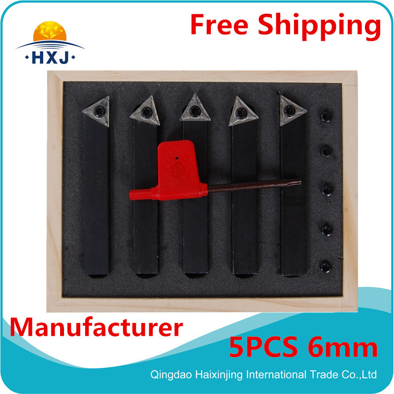 turning tool 6mm Metric Indexable Carbide Turning Tools 5pcs 5PCS 6MM ,turning tools<br><br>Aliexpress