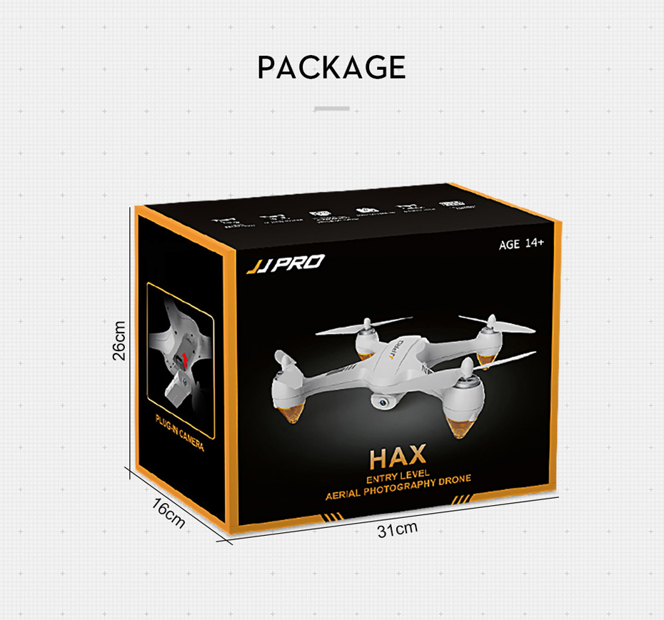 JJRC JJPRO X3 GPS Drone with Camera 1080P RC Quadcopter Profissional Brushless Motor 00mAh Battery GPS Positioning 21