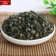 500g Bi luo chun Green Tea China 2017 Spring Premium New the for Weight loss Health Care Biluochun Tea or Chinese KungFu Tea Set