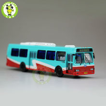 1:76 Scale American Flxible Bus China ShangHai Bus NO.825 Diecast Bus Car Model(China)