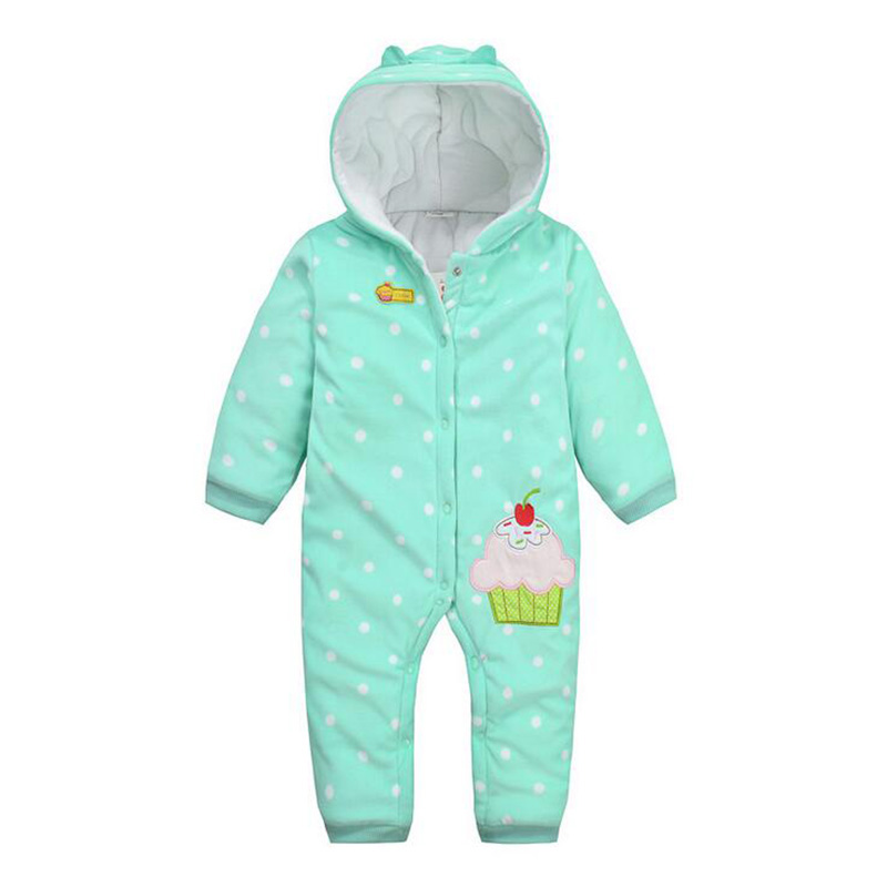 Newborn Clothes Baby Romper Long-Sleeve Fleece Jumpsuit Baby Girl Costume for Spring Autumn Trouser Suit Black Friday Girls<br><br>Aliexpress