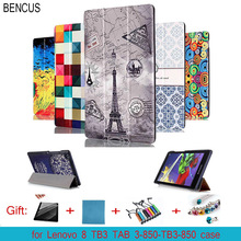 BENCUS  Lenovo 8 TB3 TAB 3-850 - f tablet computer protection shell TB3-850 - m/L ultra-thin holster coloured drawing or pattern