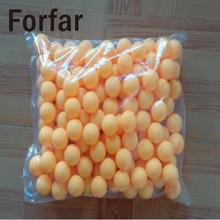 Forfar 150pcs 38mm Beer Pong Balls Ping Pong Balls Washable Drinking White Tennis Ball(China)