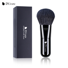 DUcare Powder Brush Kabuki Face Makeup Brushes Soft Goat Hair High Quality Cosmetics Tools(China)
