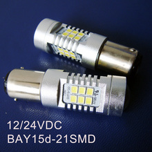 High quality 10W 12/24VDC BAY15d BAZ15d P21/5W,1157 Truck,Freight Car LED Stoplight,Auto Led Tail Lamp free shipping 12pcs/lot