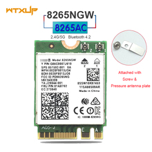 8265NGW 8265AC 867Mbps 802.11ac M2 NGFF WiFi laptop Wireless Adapter Network Card Bluetooth 4.2/MU-MIMO/Intel vPr/Microsoft(China)