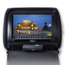 9'' HD Digital Car Headrest DVD Player With FM Transmitter With Wireless Controller and Headrest Cover