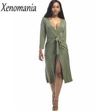 Buy Wrap Dress Vestidos Ukraine Sexy Dress Women Vestido De Festa 2017 Club Plus Size Dresses Bodycon Autumn Winter Evening Elegant for $21.05 in AliExpress store