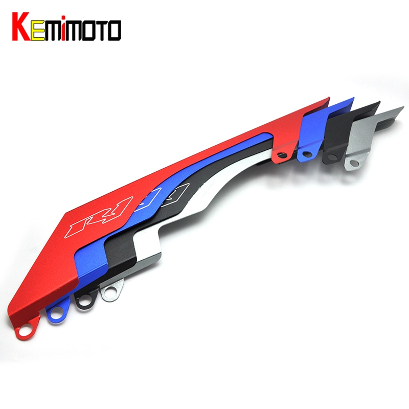 KEMiMOTO For Yamaha YZF-R1 YZF R1 Rear Chain Guard Mud Cover R1 2004 2005 2006 2007 2008<br>