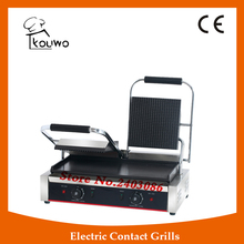 KOUWO Professional electric grill,electric griddle,sandwich press panini grill (KW-CG813B)