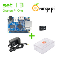 Orange Pi One SET13: Orange Pi One+ Transparent ABS Case+ Power Supply+ 16GB Class 10 Micro SD Card Beyond Raspberry
