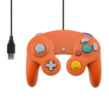 Wired USB Controller for NGC Gamecube Console Handheld For Nintendo NGC Gamepad Controle PC GC Port For Wii Computer Joystick