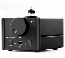 SMSL T1 DAC DSD512 Tube Headphone Amplifier 384KHZ/32Bit AK4490EQ+CM6632A OPTIC/Coaxial/XMOS/USB DAC Digital Tube Amp(China)