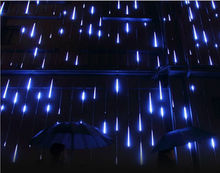 80CM 8pcs/set christmas lightsTree decoration led meteor tube icicle light of waterproof Rain shower Light bulb IP65