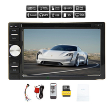 In Deck PC MP3 HeadUnit Stereo CD 6.2 Inch EQ Autoradio System Sub win8 Music Video Radio Audio MP5 GPS Map Car DVD