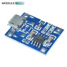 5PCS TP4056 5V 1A Mini Micro Interface USB Lithium Battery Charging Board DIY Charger Module(China)