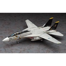 OHS Hasegawa 52135 1/72 F14 Tomcat Wardog Ace Combat Assembly Airforce Model Building Kits(China)