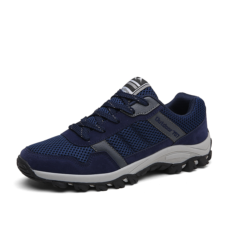2017 Summer New Men Sport Shoes Breathable Outdoor Running Shoes Boys Outdoor Walking non slip Shoes lace up Athletics sneakers<br>