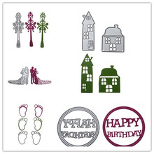 9 Styles NEW Embossing Steel Alphabet Letter Car Cutting Dies Stencils DIY Scrapbooking Card Album Photo Painting Template Metal