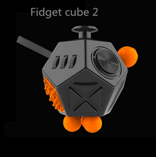 NEW Fidget Cube 2 Toys for Girl Boys Christmas Gift The First Batch of The Sale Best Christmas Gift Anti Stress Cube With Box