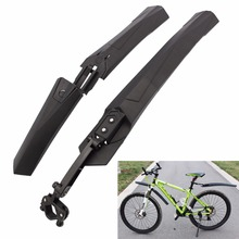 Bike Rear Mud Guards Front Mudguard Light Weight Fenders Set PA Plastic Bicycle Fenders Cycling Mountain Bike Cleaning Tool(China)