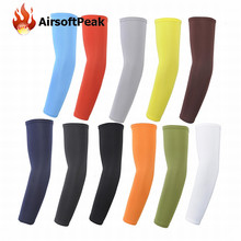 Unisex Solid Cuff Sleeves Protected Long Arm Sleeve Outdoor UV-resistant Arm Stockings Ciclismo Fishing Cycling Arm Warmers