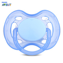 Philips Avent 1pc Silicone Newborn Baby Infant Pacifier Fashion Baby Pacifiers For 0-6 Month Prendedor De Chupeta Alimentadora(China)