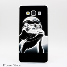 3954CA Vintage Stormtrooper Star Wars Transparent Hard Cover font b Case b font for Galaxy A3